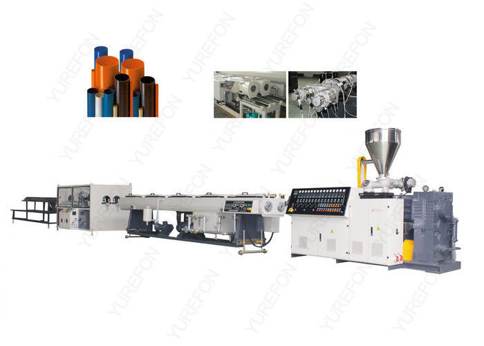 250 Kg / H UPVC Plastic Pipe Extrusion Line With Agricultural Water Supply System